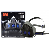 3M Secure Click Half face Reusable Respirator (HF-800)