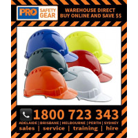 ProChoice V6 Hard Hat Vented Pushlock Harness (HHV6)