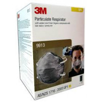 3M GP1 Particulate, Nuisance Vapours & Odours Respirator (9913) Pk-15