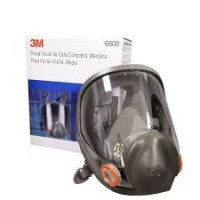 Large 3M P3 Full Face Respirator Mask 6900 + 6038 Filters