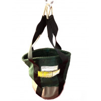 Canvas Lifting Round Bolt Bag Web Handle Rated 10kg