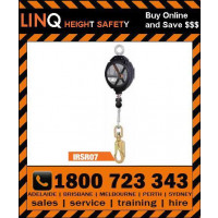 LINQ 7m Self Retractable Wire Rope Loq Bloq (IRSR07)
