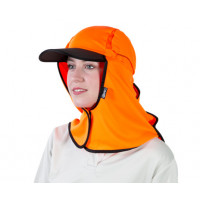 Uveto Hi Vis Orange Kalahari Hat Micro Mesh (KHMOR)
