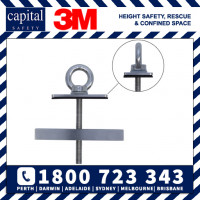 Low Profile Purlin Mounted Anchor - Flat Pan application