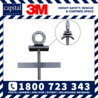 Low Profile Purlin Mounted Anchor - corrugated iron application