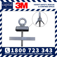 Low Profile Purlin Mounted Anchor - spandek application