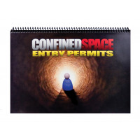 Confined Space Entry Permits Logbook - A4 Size (LB101)