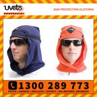 Uveto Le Work Hood Head Protection Sun Cap