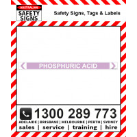PHOSPHORIC ACID 475x35mm Self Stick Vinyl