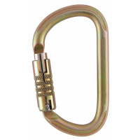 Petzl VULCAN Steel Triple-Lock Carabiner (M73TL)