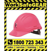 Mcgrath Foundation Non Vented Pink Hard Hat (20 Per Carton)
