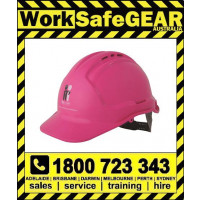 Mcgrath Foundation Vented Pink Hard Hat (20 Per Carton)