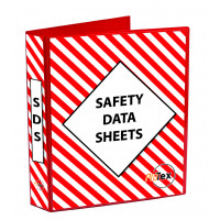 Safety Data Sheet Binder Red/White (MSDSB)