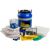 3M Oil & Petroleum Sorbent Spill Kit Drum - 45L (OSRK-45)