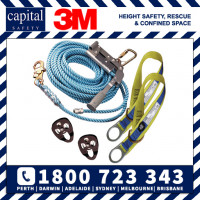 Sayfline Temporary Horizontal Lifeline System - Rope 25m