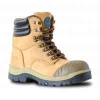 Bata Wheat Nubuck Lace Up Safety Boot (805-80640)