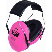 3M PELTOR Pink Green Headband Format Kid Earmuffs SNR 27dB (XH001678487)