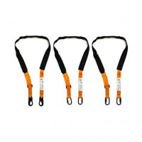 LINQ Pro Choice Pole Strap 2m Double or Triple Action Karabiner or Snap Hook (HSPS20)