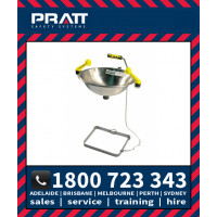 Pratt Wall Mounted Eye Wash Hand & Foot Operated (SE515)