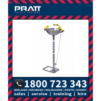Pratt Foot Operated Free Standing Eye Wash (SE546)
