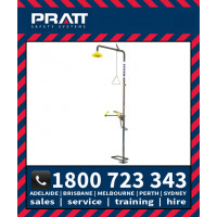 Pratt Safety Shower with AEROSTREAM NO BOWL (SE679)