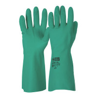 ProChoice L/8 Chemical Resistant Glove Green Nitrile. Length 33cm (RNF15)