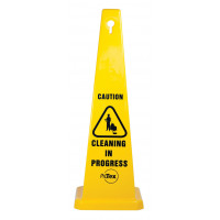 890mm Safety Cone - Caution Cleaning In Progress (STC02)