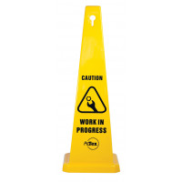 890mm Safety Cone - Caution Work In Progress (STC06)