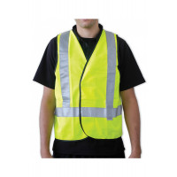Pro choice vest Day/Night Yellow reflective 2XL