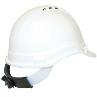 3M TA570 Safety Helmet ABS (Type 1) Vented & ratchet harness - White