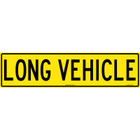 1200x300mm - RETAILED PACKED - Vinyl Banner - Class 2 - Long Vehicle (TC405-VB/RP)