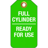75x160mm - Tear Proof Tags - Pkt of 25 - Full Cylinder Ready For Use (TDT250TP)