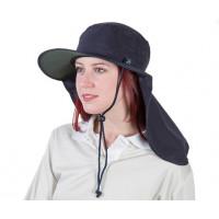 Uveto M-L NAVY Tammin Broad Brim Sun Hat