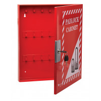 400x470x50mm Lockable Padlock Cabinet (up to 56 padlocks) (UL318)