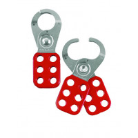 38mm Safety Lockout Hasp - Red (UL421)