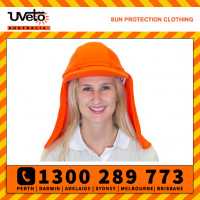 Uveto ORANGE Fire Retardant Gobi Over Hat Helmet Add-on