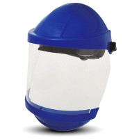 3M Browguard Visor And Blue Chinguard Kit
