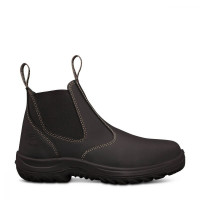 Oliver Black Elastic Sided Boot (26-620)