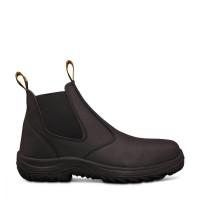 Oliver Black Elastic Sided Boot (34-620)