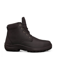 Oliver Black Lace Up Ankle Boot (34-634)