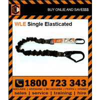LINQ 2m Shock Absorbing Single Leg Elasticated Lanyard (WLE) Various Configurations