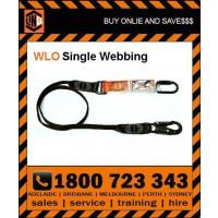 LINQ 2m Shock Absorbing Single Leg Webbing Lanyard (WLO) Various Configurations