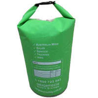 Green 60L Rope Dry Heavy Duty Bag