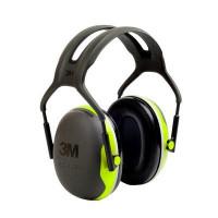 3M Green/Black Headband Format Earmuffs Class 5 SLC80 31dB (XA007707947)- Pk 10