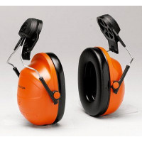 (Case of 20 boxes) 3M Orange Helmet Attached Format Earmuffs For Airstream Helmet Class 4 SLC80 23dB (1 pair per box) (XH001657960)