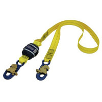 3M DBI SALA Force2 Shock Absorbing Lanyards Webbing Single Tail 2.0m overall length