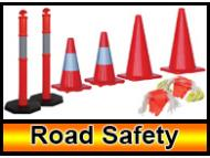 Barriers-Barricades-safety cones
