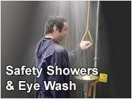 Safety Showers & Eye Wash