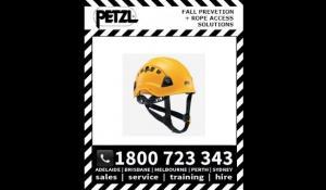 Petzl ALVEO EN Lightweight helmet for work at height and rescue