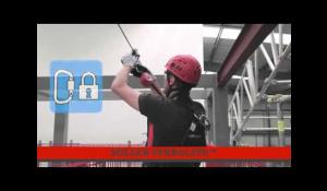 How to use a Miller TurboLite 2 Twistlock Karabiners Fall Arrest Block